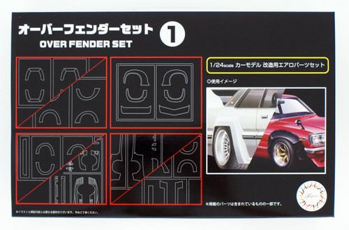 Fujimi GT31 Over Fender Set 1 1/24 Scale kit