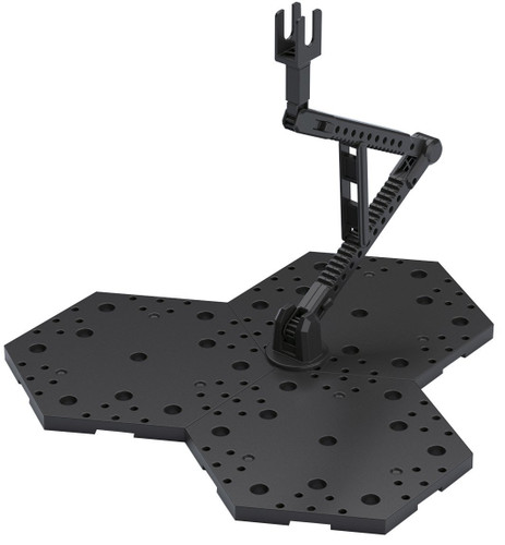 Bandai Action Base 4 Black for 1/100 Scale Kit