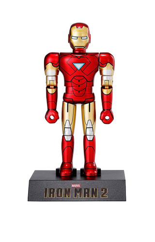 Bandai Spirits Chogokin HEROES Iron Man Mark 6 Figure (Iron Man 2)