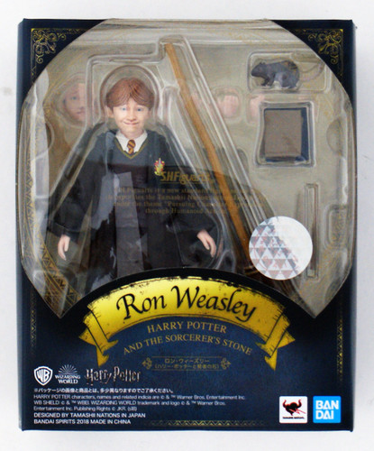 Bandai S.H. Figuarts Ron Weasley Figure (Harry Potter and the Philosopher's Stone)