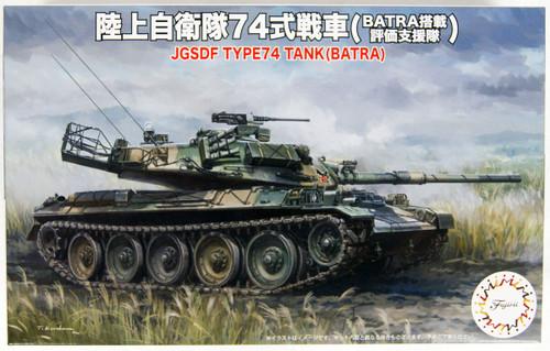 Fujimi SWA28 JGSDF Type 74 Tank (BATRA Equipped) 1/76 Scale kit