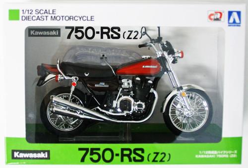 Aoshima Skynet 04620 Kawasaki 750RS (Z2) Fire Ball 1/12 Scale Finished Model