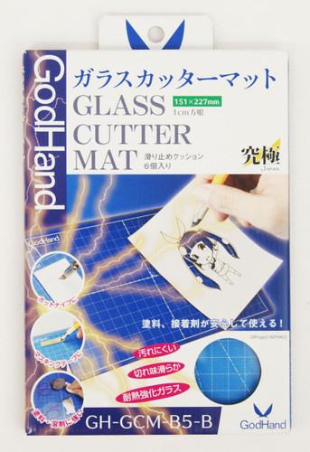 God Hand GH-GCM-B5-B Glass Cutter Mat (Blue)