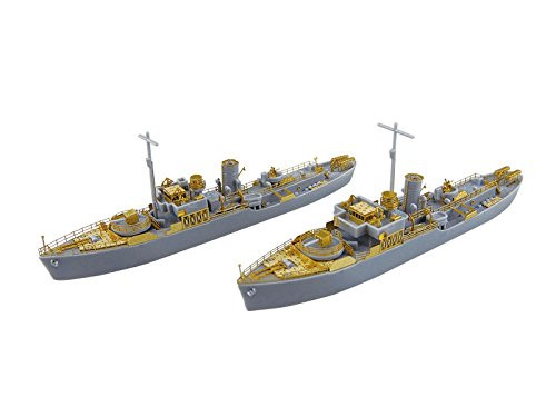Aoshima Waterline 52723 HMS Exeter Atlantic Fleet Escort Operation 1/700 scale kit