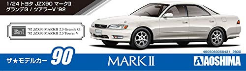 Aoshima 56431 The Model Car 90 Toyota JZX90 Mark II Grande / Tourer '92 1/24 scale kit