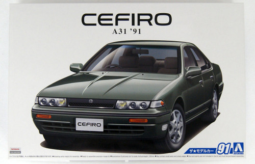 Aoshima 56448 The Model Car 91 Nissan A31 Cefiro 1991 1/24 scale kit