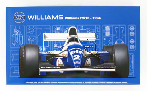 Fujimi GP24 Williams FW16 Renault (San Marino GP/ Brazilian GP/ Pacific GP) 1/20 Scale kit