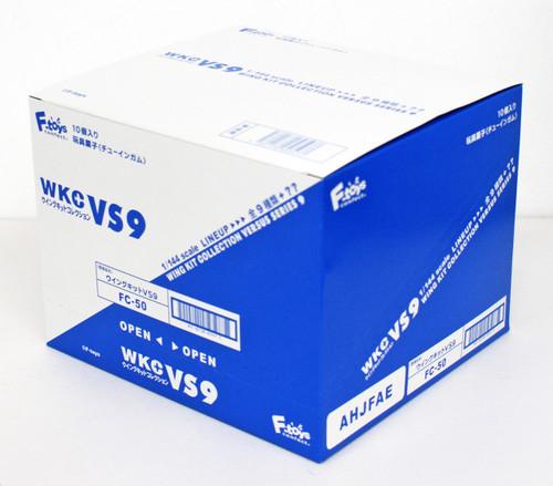 F-toys Wing Kit Collection VS9 Semi-Finished 1/144 scale kit 1 BOX 10 kits Set