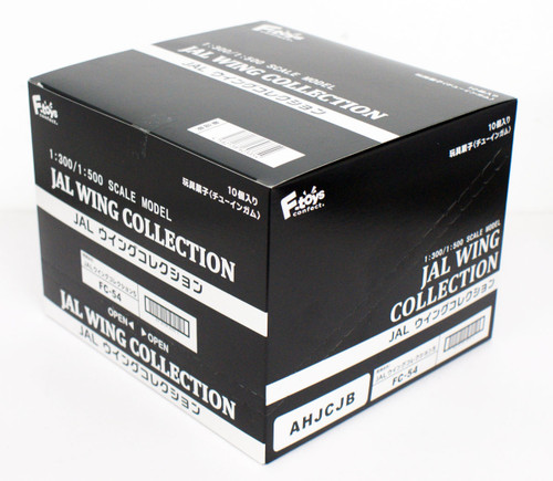 F-toys JAL Wing Collection 5 1/300 1/500 scale kit 1 BOX 10 Kit Set