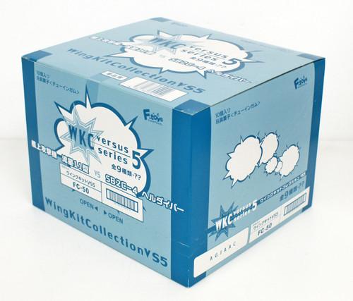 F-toys Wing Kit Collection VS5 Semi-Finished 1/144 scale kit 1 BOX 10 kits Set