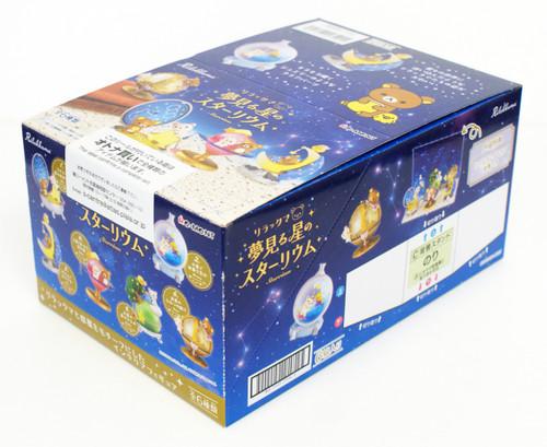Re-ment 171944 Rilakkuma Star-rium 1 BOX 6 Figures Complete Set