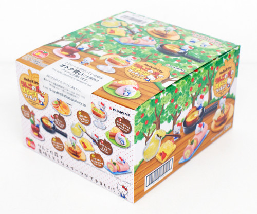 Re-ment 151960 Hello Kitty Apple Forest Sweets 1 BOX 8 Figures Complete Set
