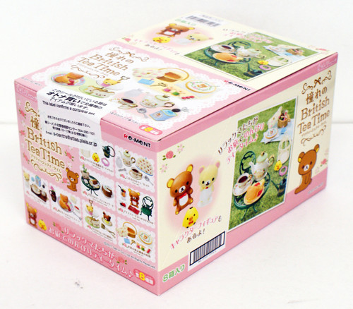 Re-ment 171180 Rilakkuma British Tea Time 1 BOX 8 pcs. Complete Set
