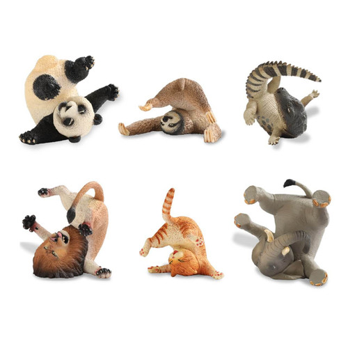 Union Creative ANIMAL LIFE Rolling Your eyes 1 BOX 8 Figures Set