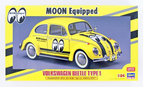Hasegawa 20357 Volkswagen Beetle 'Moon Equipped' 1/24 Scale kit