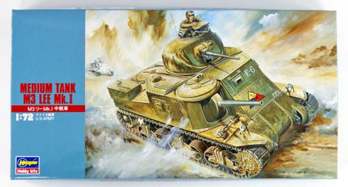 Hasegawa MT04 MEDIUM TANK M3 LEE Mk.I 1/72 Scale Kit