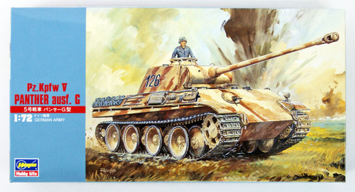 Hasegawa MT09 Pz.Kpfw V PANTHER ausf.G TANK 1/72 Scale Kit