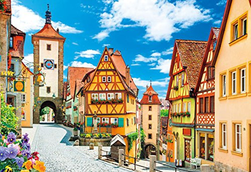 Beverly Jigsaw Puzzle M81-877 Rothenburg Germany (1000 S-Pieces)