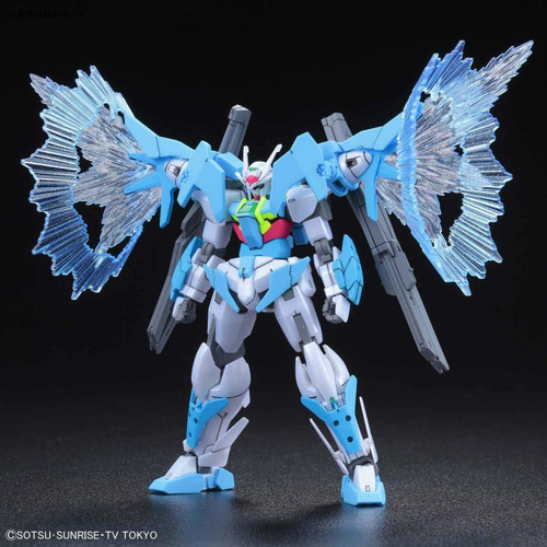 Bandai Gundam Build Divers 014-SP Gundam OO Sky (Higher Than Skyphase) 1/144 scale Kit