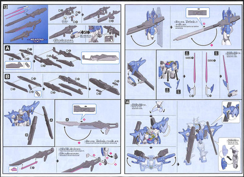 Bandai Gundam Build Divers 014-SP Gundam OO Sky (Higher Than Skyphase) 1/144 scale Kit