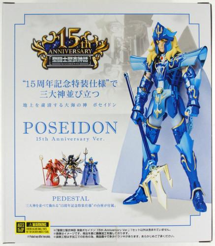 Bandai Saint Seiya Myth Cloth Sea Emperor Poseidon 15th Anniversary Ver. Figure