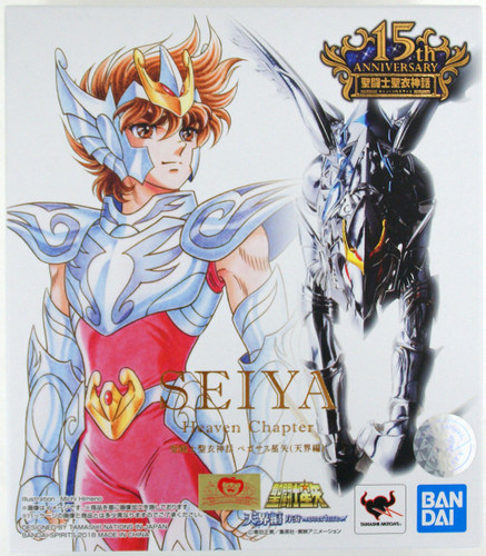 Bandai Saint Seiya Myth Cloth Pegasus Seiya (Heaven Chapter) Figure
