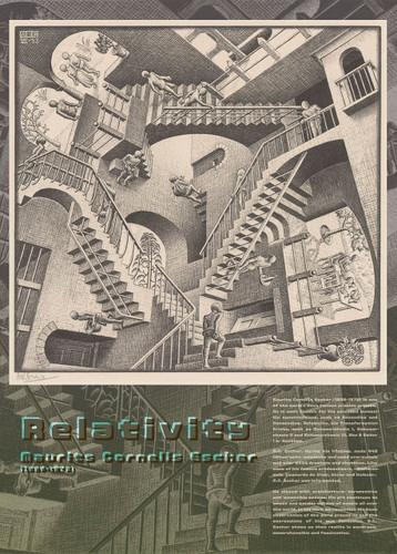 Epoch Jigsaw Puzzle 06-099 Maurits Cornelis Escher Relativity 1953 (500 Pieces)
