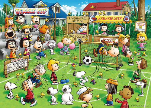 Epoch Jigsaw Puzzle 06-097s Peanuts Snoopy Soccer (500 Pieces)