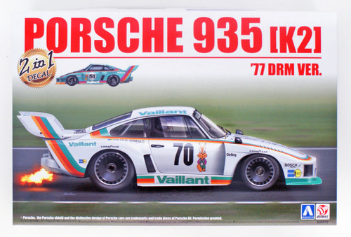 Aoshima 05108 Porsche 935 K2 '77 DRM Version 1/24 Scale kit