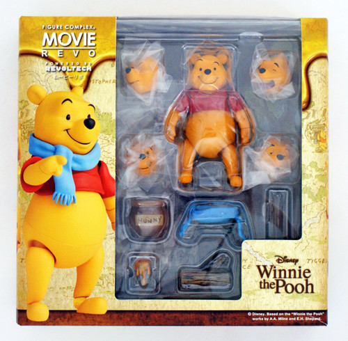 Kaiyodo Movie Revo (Revoltech) Series No.011 Winnie the Pooh Action Figure (4537807131102)