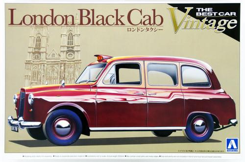 Aoshima 00724 London Cab Taxi 1/24 Scale Kit