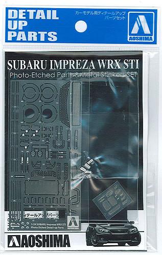 Aoshima 00588 Subaru Impreza WRX STI 2010 Photo Etched Parts 1/24 Scale
