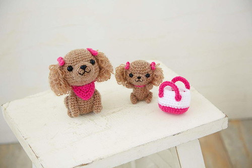 Hamanaka H301-515 Amigurumi (Crochet Doll) Kit Toy Poodle