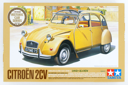 Tamiya 25415 Citroen 2CV 1/24 Scale Kit