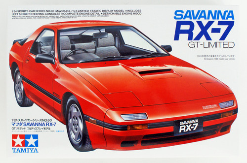 Tamiya 24060 Mazda Savanna RX-7 GT Ltd 1/24 scale kit