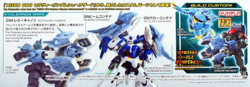 Bandai HG Build Custom 039 Ptolemaios Arms 1/144 Scale Kit