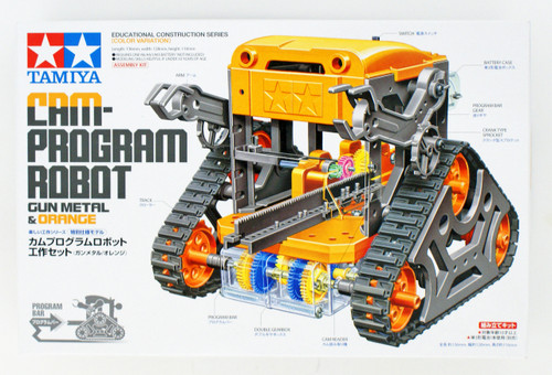 Tamiya 69922 Cam-Program Robot Gun Metal & Orange