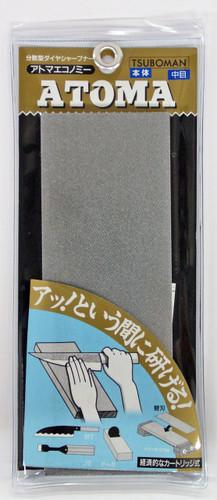 TSUBOMAN ATM75-4E ATOMA Economy Diamond Sharpener Blade & Base #400 (126671) SYU