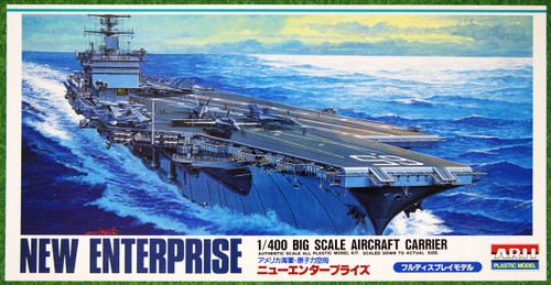 Arii 329818 New USS Enterprise Aircraft Carrier 1/400 scale kit (Microace)