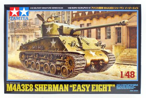 Tamiya 32595 US Medium Tank M4A3E8 Sherman 'Easy Eight' 1/48 scale kit