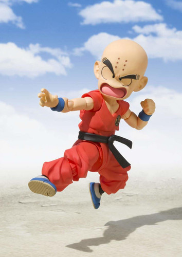 Bandai S.H. Figuarts Young Krillin Figure (Dragon Ball)