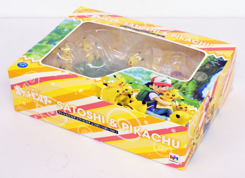 MegaHouse G.E.M. Series Pokemon Ash & Pikachu (Lots of Pikachu ver.) Figure