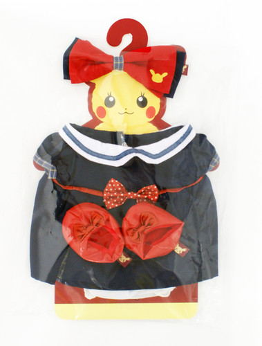 Pokemon Center Original Pikachu's Closet (Female) Formal Costume Set 721
