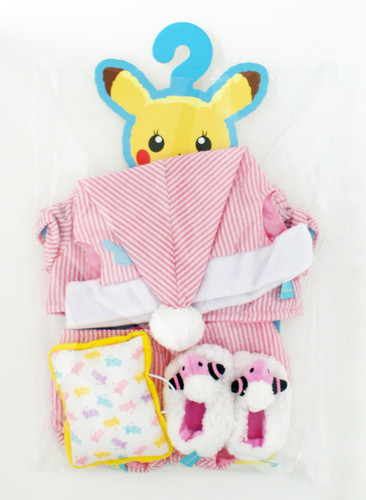 Pokemon Center Original Pikachu's Closet (Female) Pajama Costume Set 721