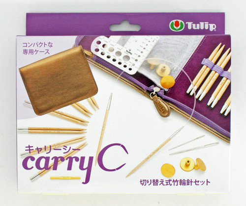 Tulip TCC-06 Carry C Bamboo Knitting Needles Set