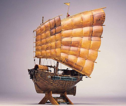 Aoshima 56462 Chinese Junk 1880 1/60 Scale kit