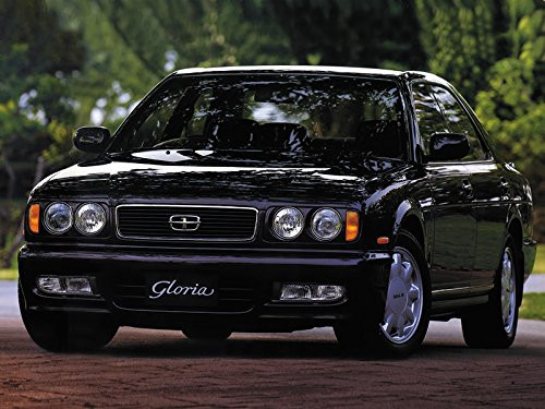 Aoshima 56523 Model Car 92 NISSAN Y32 Cedric/Gloria V30 Twincam Turbo Granturismo Ultima '92 1/24 scale kit