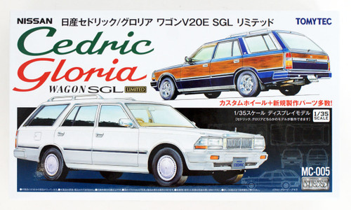 Tomytec MC-005 MSS Nissan Cedric / Gloria Wagon SGL 1/35 Scale Convertible Kit