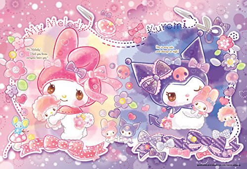 Beverly Jigsaw Puzzle 33-154 Sanrio My Melody & Kuromi (300 Pieces)
