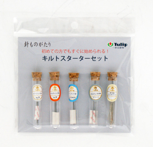 Tulip HK-002 Hiroshima Hari Monogatari Quilting Starter Set Needle Made in Japan